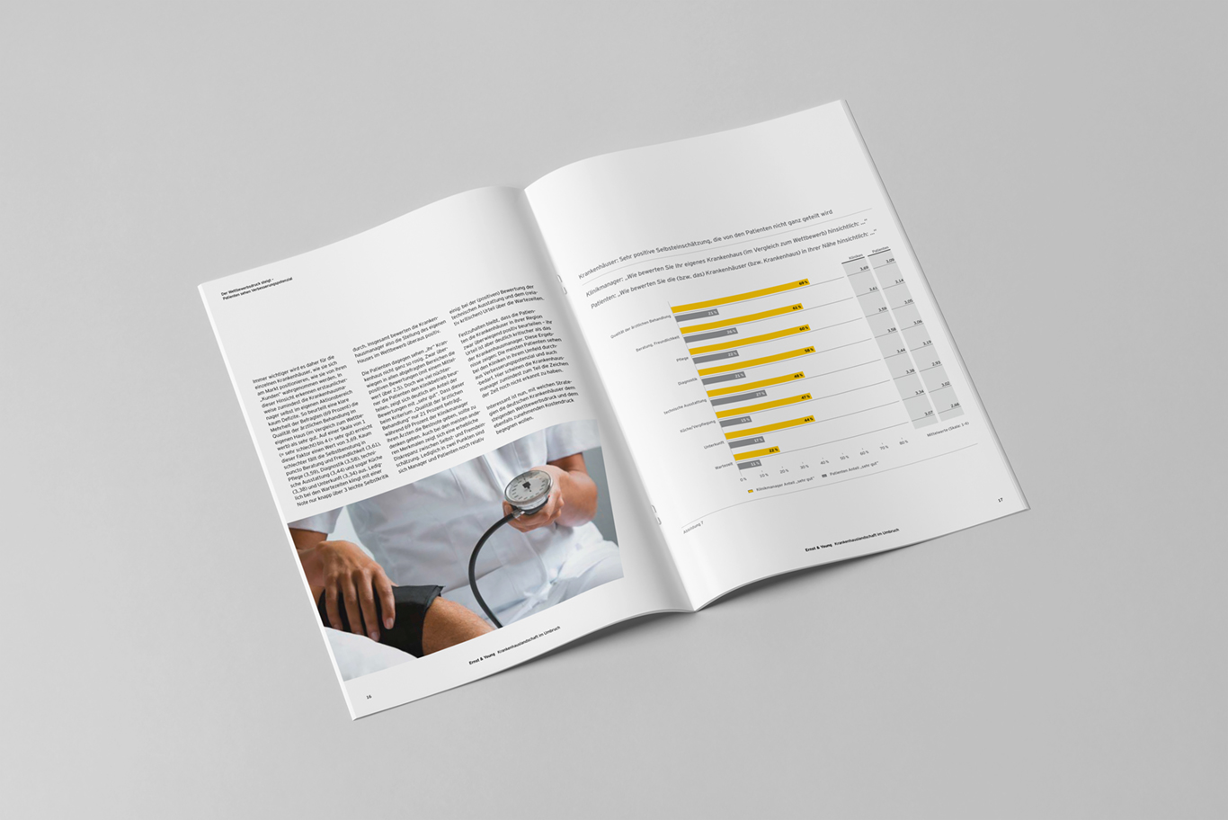 EY Studie Krankenhauslandschaft im Umbruch 2010