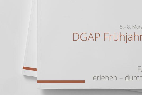 DGAP Frühjahrstagung 2020